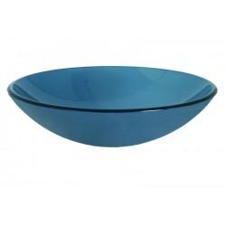 GLORIA FROSTED BLUE ΓΥΑΛΙΝΟΣ ΝΙΠΤΗΡΑΣ Φ42Χ14,5 (66-0004)