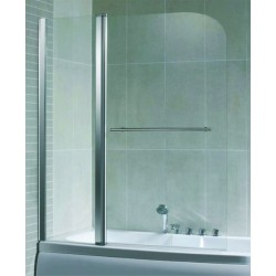 GLORIA GLASS BATH ΠΡΟΣΟΨΗ ΜΠΑΝΙΕΡΑΣ 115*140 ΧΡΩΜΕ (80-1150)