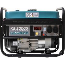 """ΥΒΡΙΔΙΚΗ ΓΕΝΝΗΤΡΙΑ ΑΕΡΙΟΥ-ΒΕΝΖΙΝΗΣ KS 3000G LPG Benzin-Generator """"Könner & Söhnen ΓΕΡΜΑΝΙΑΣ"""