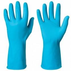 Γάντια latex GRANBERG 112.0122.M10 X. LARGE σε μπλε χρώμα πιστοποιητικά ΕΝ 420, ΕΝ 388, ΕΝ 374, ΕΝ 1186, CE (112.0122.Μ10)