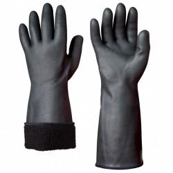 Γάντια μαύρα χημικών GRANBERG 114.3000 από Νεοπρένιο με πιστοποιητικά ΕΝ 420, ΕΝ 388, ΕΝ 374, ΕΝ 407, ΕΝ 511, CE (114.3000.M10)