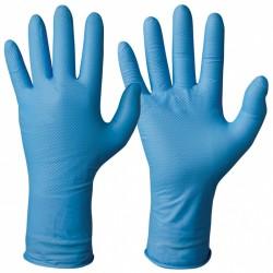 Γάντια μακρυά νιτριλίου μπλε GRANBERG 114.955.M με πιστοποιητικά ΕΝ 420, EN 374, EN 1186, CE (114.955.M)
