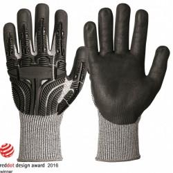Γάντια GRANBERG 115.5501.Μ09 προστασίας κοπής και κρούσης 360 ° με Typhoon πιστοποιητικά ΕΝ 420, EN 388, CE (115.5501.Μ09)