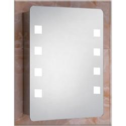 GLORIA SONIA LED 44x66x13mm ΚΑΘΡΕΦΤΗΣ ΜΕ ΕΡΜΑΡΙΟ LED (50-1049)