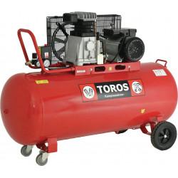 TOROS DH-30150/10 ΕΠΑΓΓΕΛΜΑΤΙΚΟΣ ΑΕΡΟΣΥΜΠΙΕΣΤΗΣ ΜΕ ΙΜΑΝΤΑ 240V 150LT 3HP (602039)