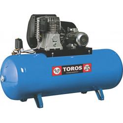 TOROS Ν6-500F-7,5T ΣΤΑΘΕΡΟΣ ΑΕΡΟΣΥΜΠΙΕΣΤΗΣ ΜΕ ΙΜΑΝΤΑ Blue series 500ltr. - 7,5Hp - 380V (602013)