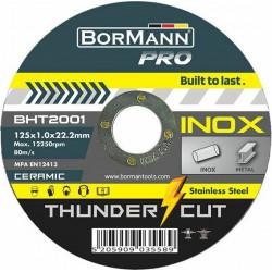 ΔΙΣΚΟΣ ΚΟΠΗΣ BORMANN BHT2001-D THUNDER-CUT ΙΝΟΧ EXTRA LONG CERAMIC Φ125x1mm (BHT2001-D)
